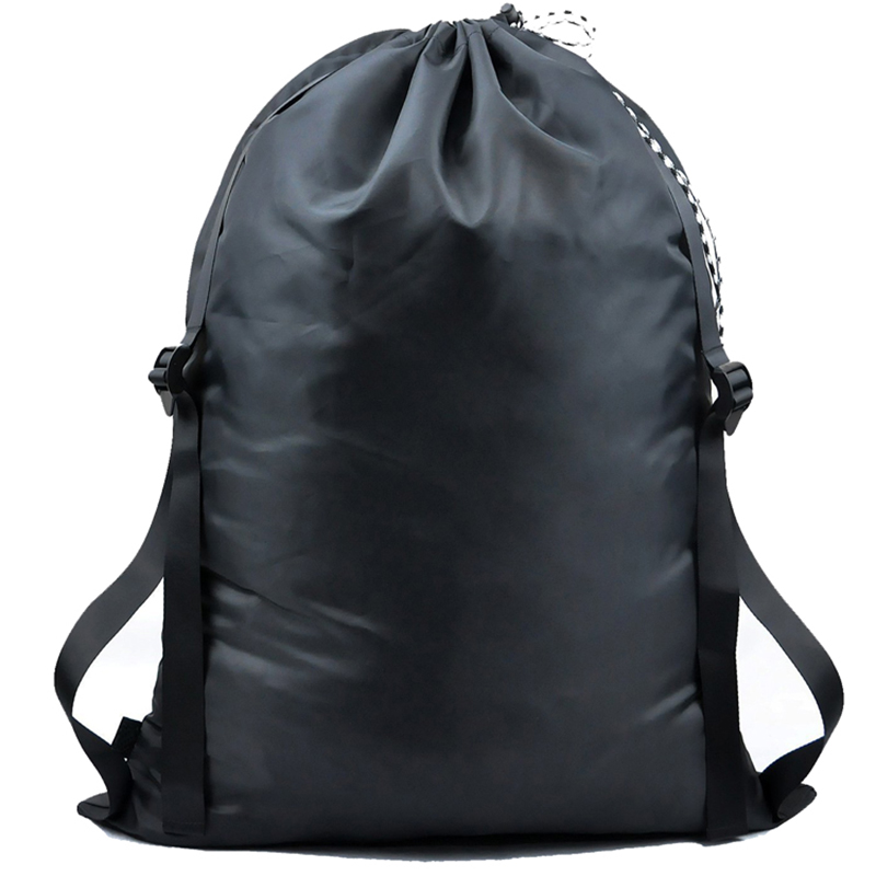 Dust bag drawstring Wholesale High Quality Custom Large Waterproof Nylon Dust shoe Drawstring Laundry Bag With Logo