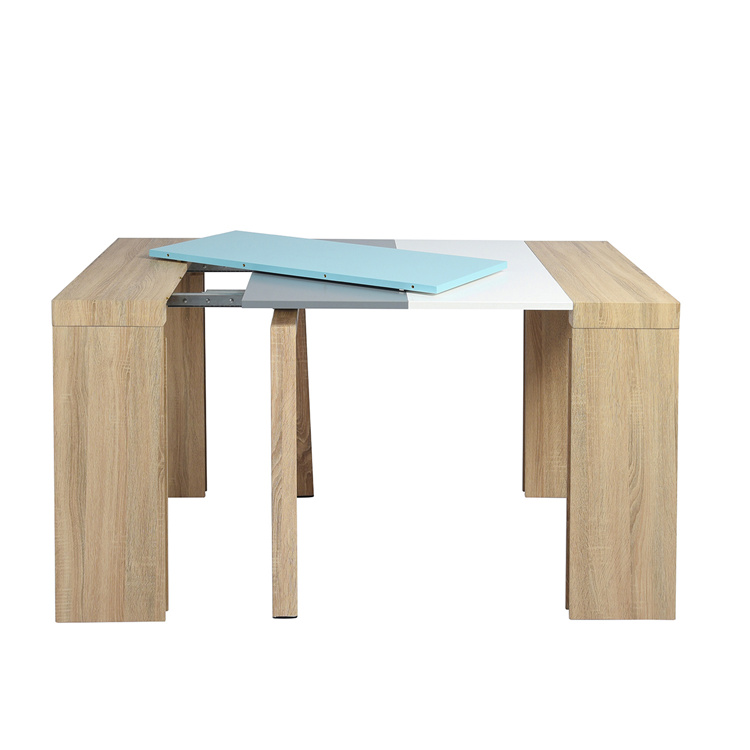 Modern design 12 seat glass dining table marble top for sale