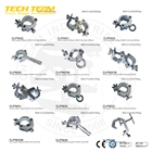 Hook Stage Light Heavy Duty Hook Aluminium Truss Clamp For Stage Light Truss