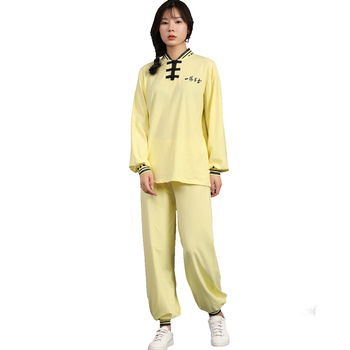 High Quality Women Kong Fu Wushu Clothes Sports Suits Tai Chi Exercises Uniform