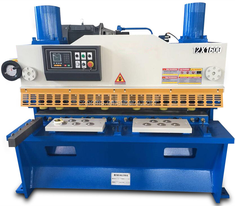 QC12K-12*2500 Mechanical Cutting Sheet Metal CNC Guillotine Shearing Machine