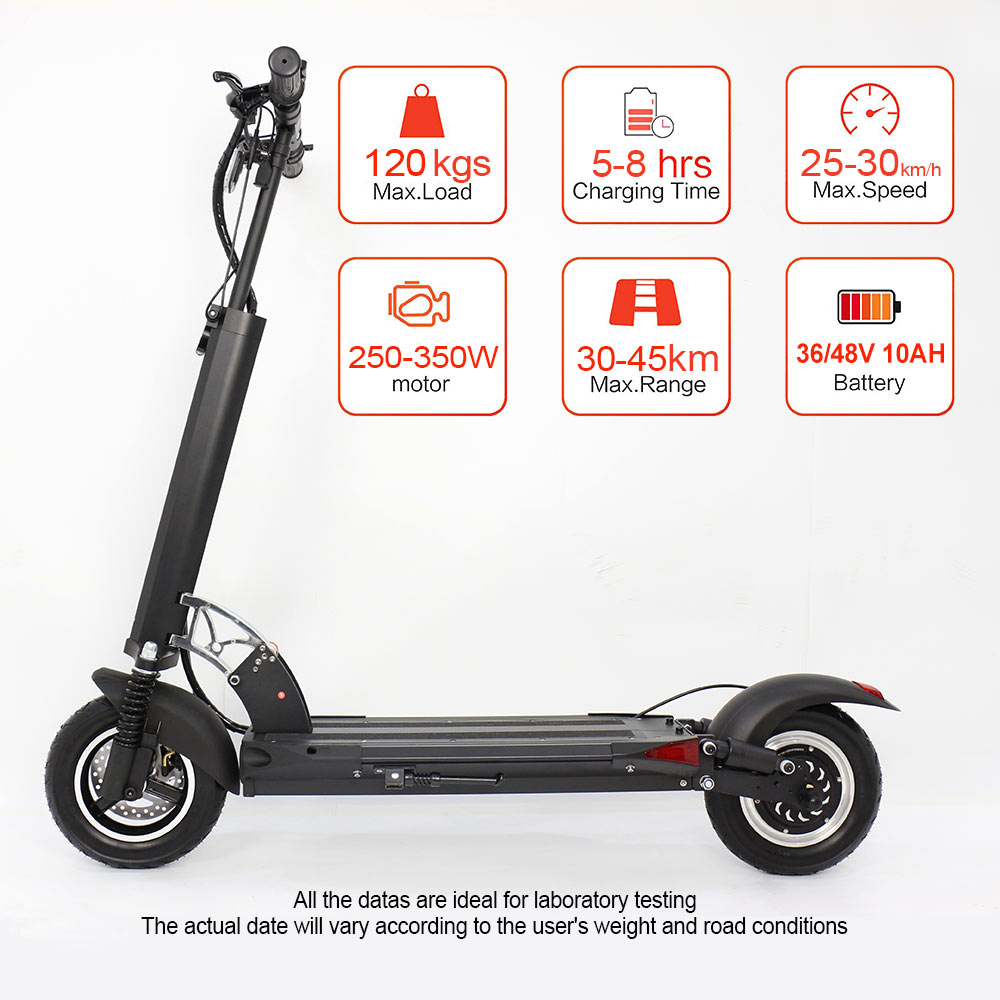 Cool electric scooter 36v 350w folding scooter best electric scooter for adults - electric scooter - 2
