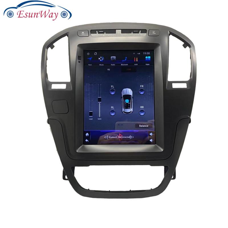 Вертикальная Автомагнитола Telsa Android 9,0 для Opel Insignia Buick Regal, автомобильный мультимедийный плеер, стерео, автомобильный GPS