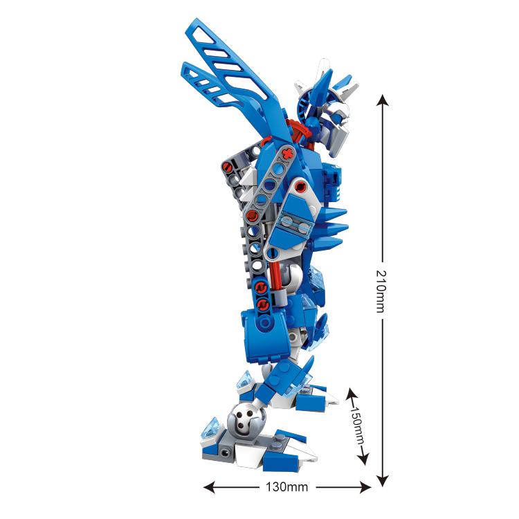 woma toy Cheap custom intelligent DIY assemble robot car toys set