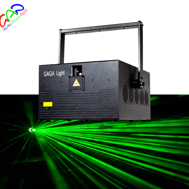 professional 20w outdoor logo landmark animation beam single green dj stage laser light for disco