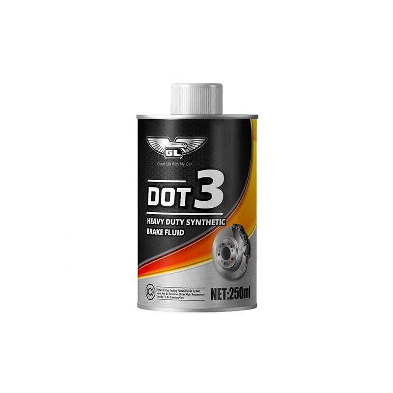 Long life free sample dot3 fluid system oil brake fluid
