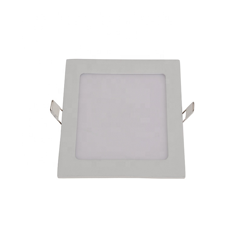 Factory price 6W 12W 18W 24W slim recessed round square led panel light