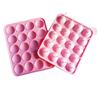 Pink lollipop mold