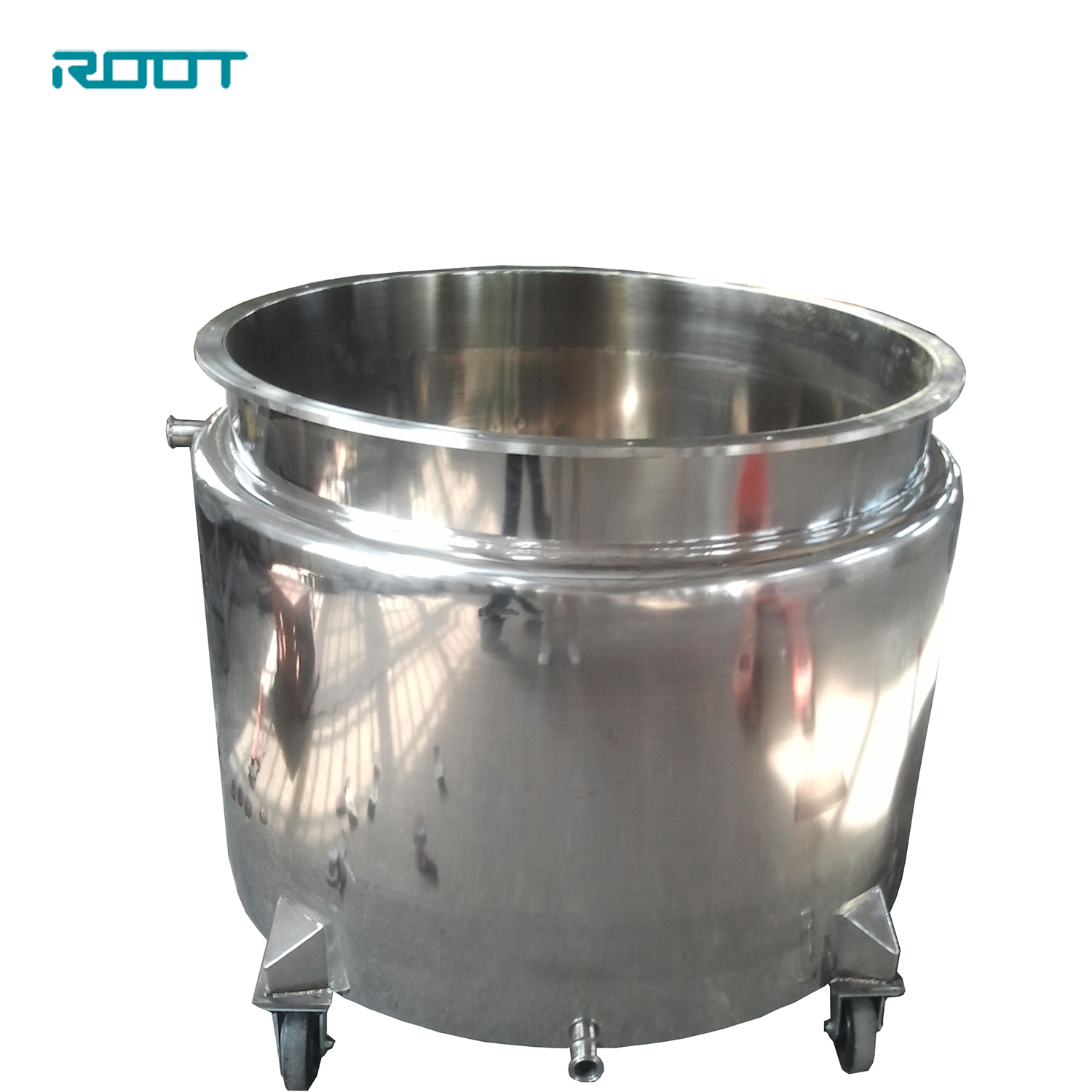 500L SS304 Stainless Steel Paint Mixing Tanks