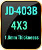 4x3 1.0mm thickness