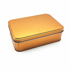 Metal Box Tin Box Cheap Gold Metal Tin Box Tin Box Gift Packing Box