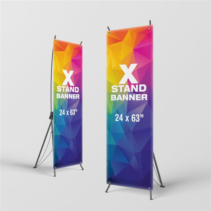 Наружная стандартная X рамка баннер дисплей реклама X-стенд баннер