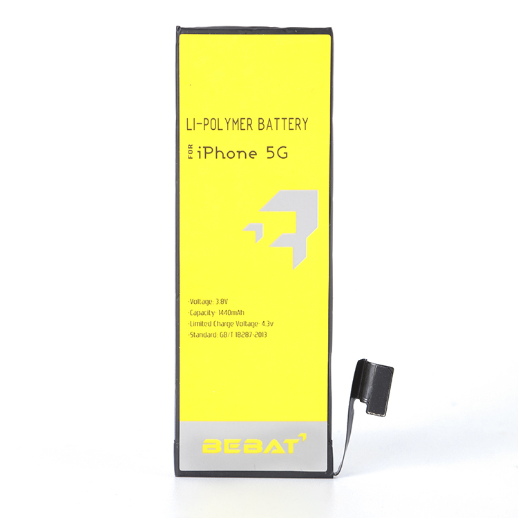 3.8v Rechargeable Batteries Lithium Ion 1560mah Original Battery For Iphone 5/5G