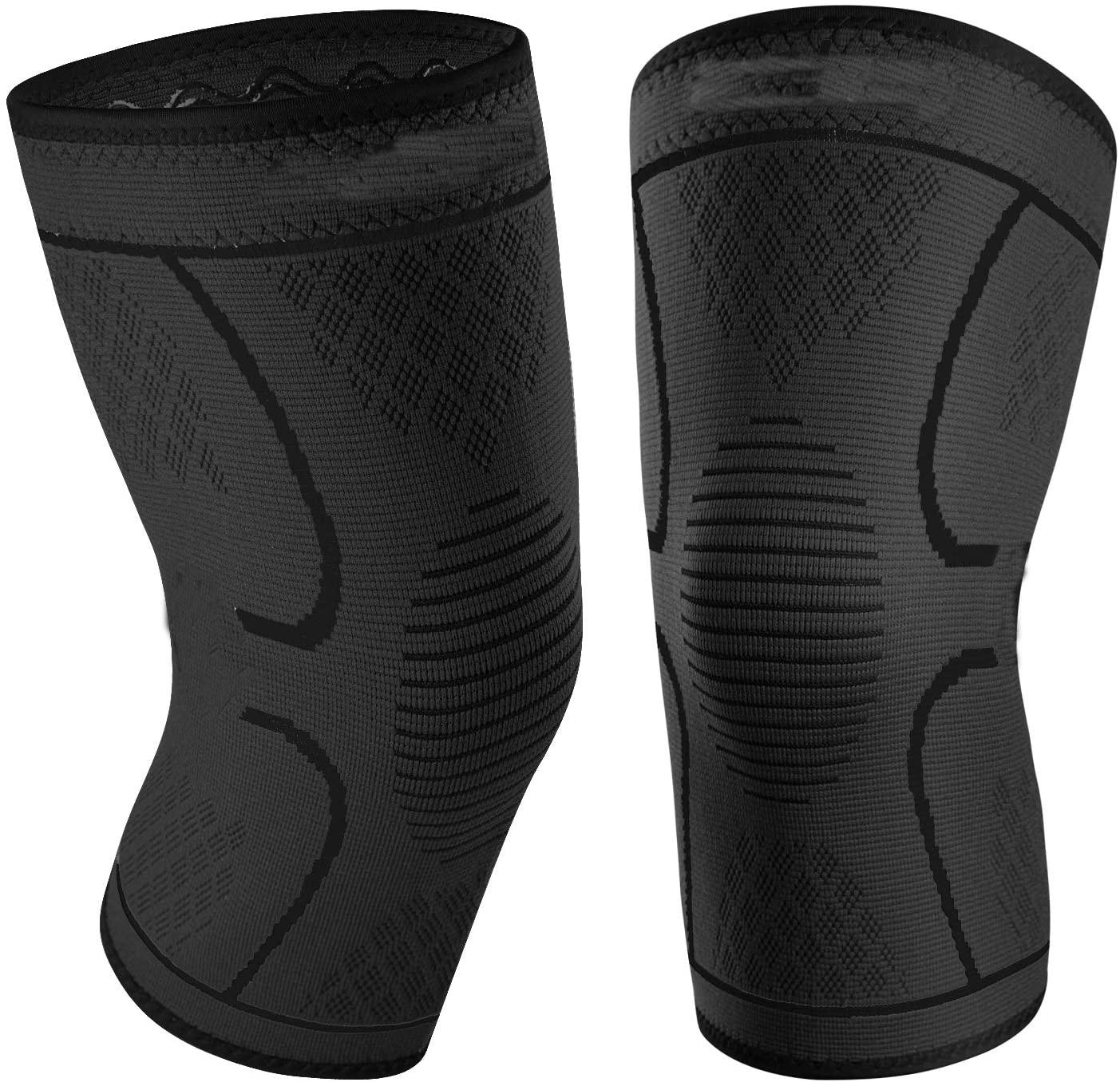 OA CE Medical Adjustable New Athletics Best Excellent Knitting Compression Knee Brace Sleeve