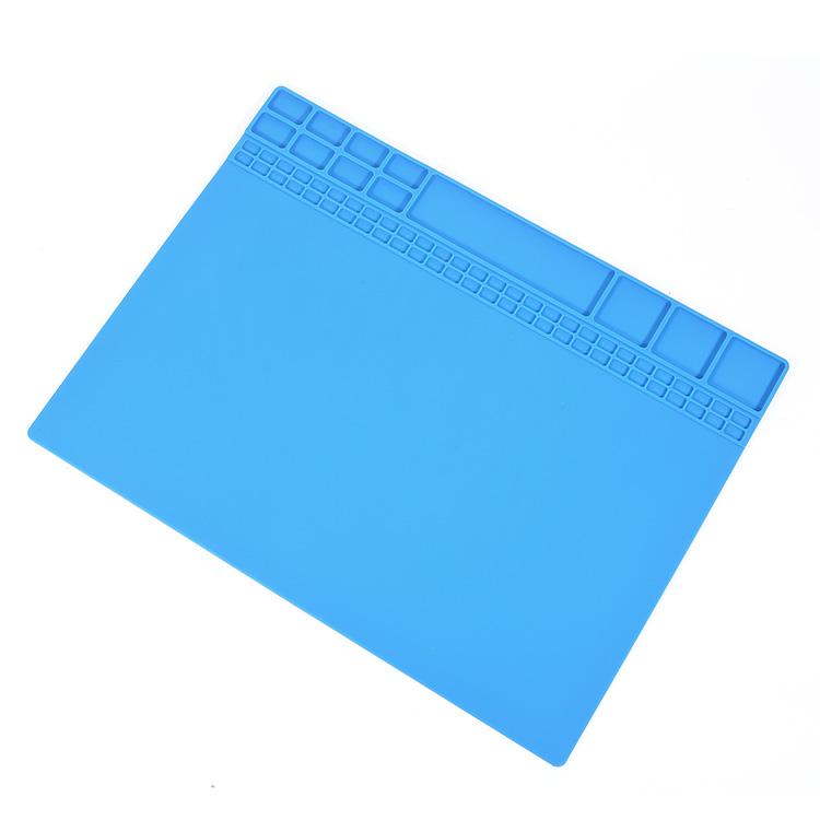 Многофункциональный изоляции ремонтные коврик термостойкий силиконовый для ремонта сотовых телефонов коврик
