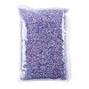 Purple resin rhinestone