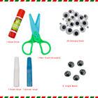 Art And Crafts Children Crafts Art And Crafts Materials For Christmas Gift Family Handcraft Set For Children