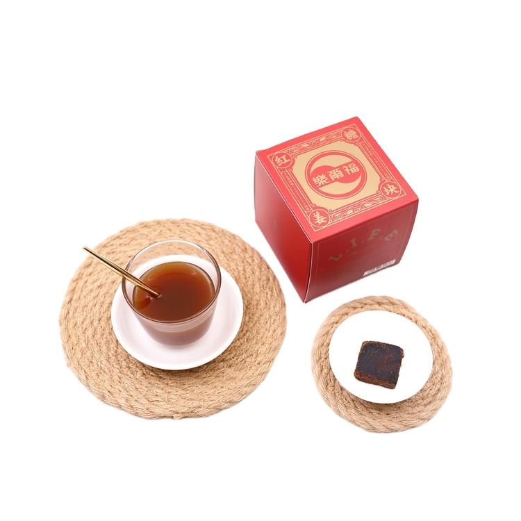 Chinese flavors brown sugar and ginger block tea natural herbal natural tea - 4uTea | 4uTea.com