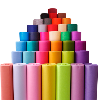 high quality degradable 70 % viscose pp non woven fabric rolls