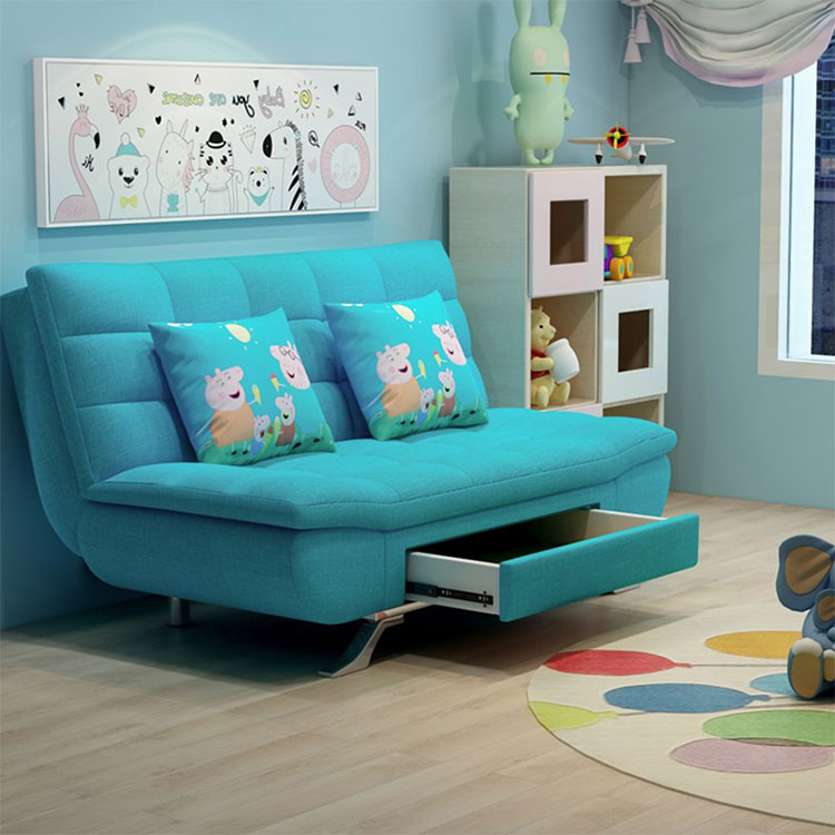 Multi-function  lazy person  can fold can store content to take receive small family web celebrity sofa bed