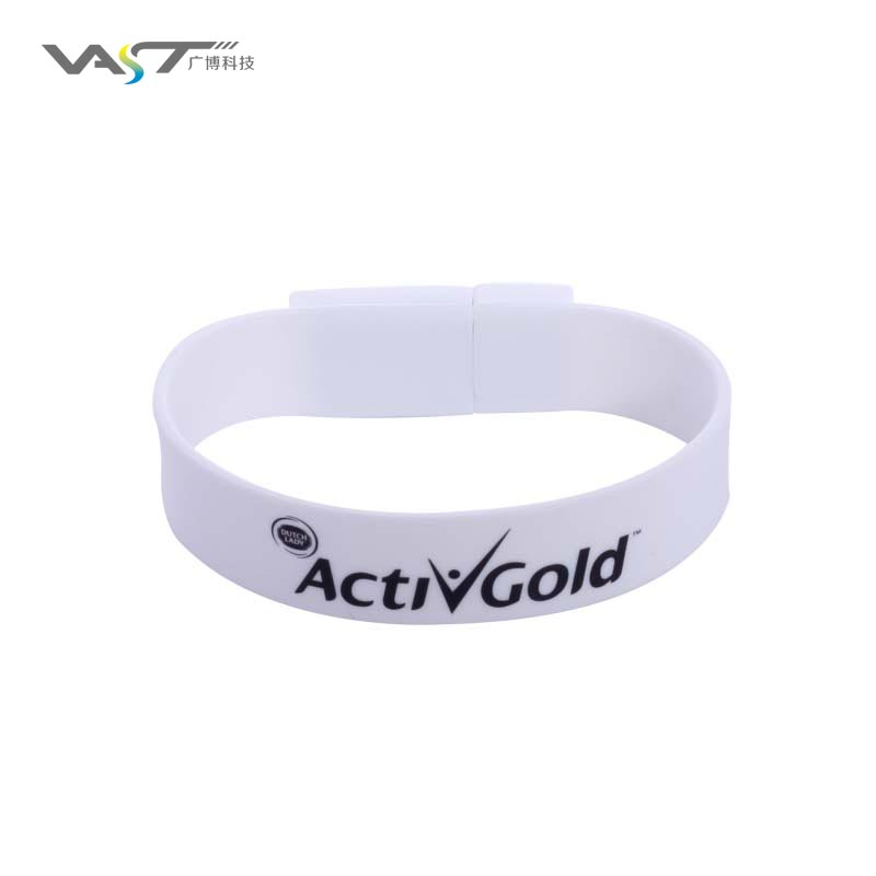 VDS-017 High quality Silicone Bracelet Wrist Band USB flash drive 3.0 usb keys 128gb - USBSKY   USBSKY.NET