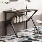 Study Home Simple Study Desk Industrial Style Writing Folding Small Computer Desk For Home Offce