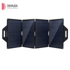 Solar Charger Factory Price 100w Outdoor Portable Waterproof Folding Solar Charger Panel