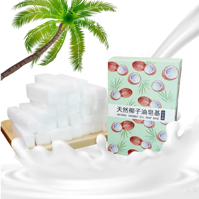 400g transparent white soap base raw material base DIY handmade soap White soap base