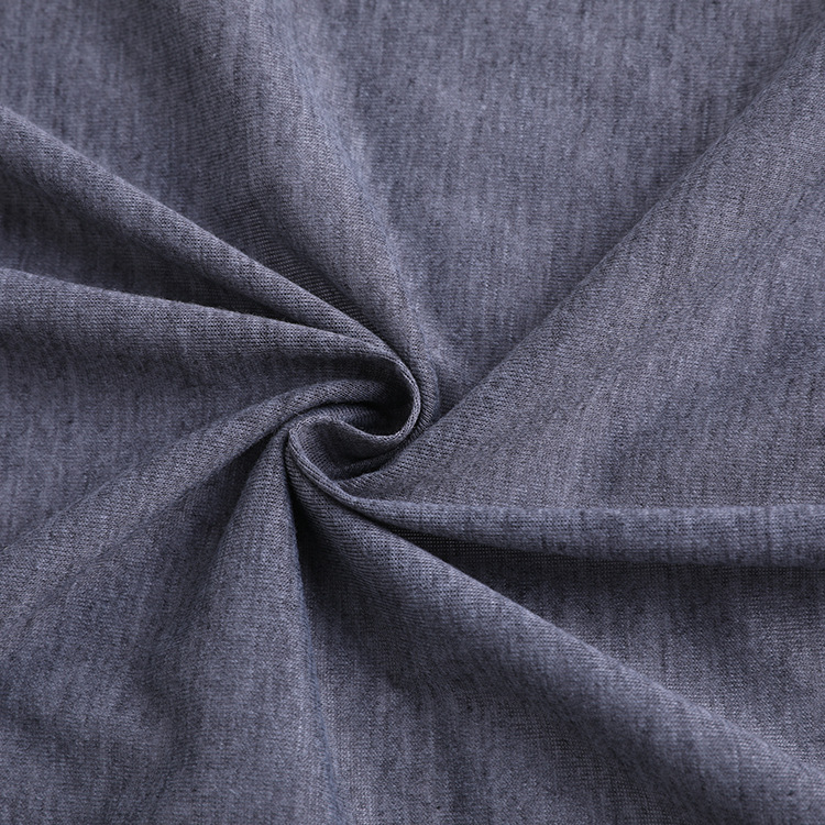 Bulk Sale 95%Polyester 5%Spandex Knitted Single Jersey Fabrics For T-shirt