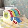 Rainbow snail toddler indoor playground