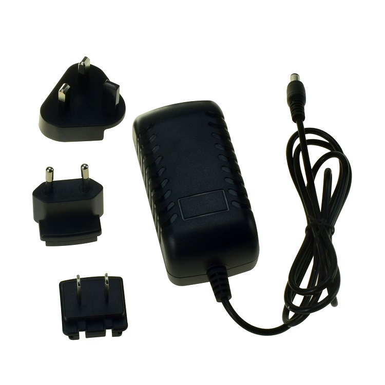 wall mount switching AC/DC power adapter charger 12V 2A interchangeable plug wall mount adapter with EU US UK ASUS plug