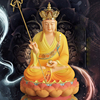 Dizang King Bodhisattva 68cm in height