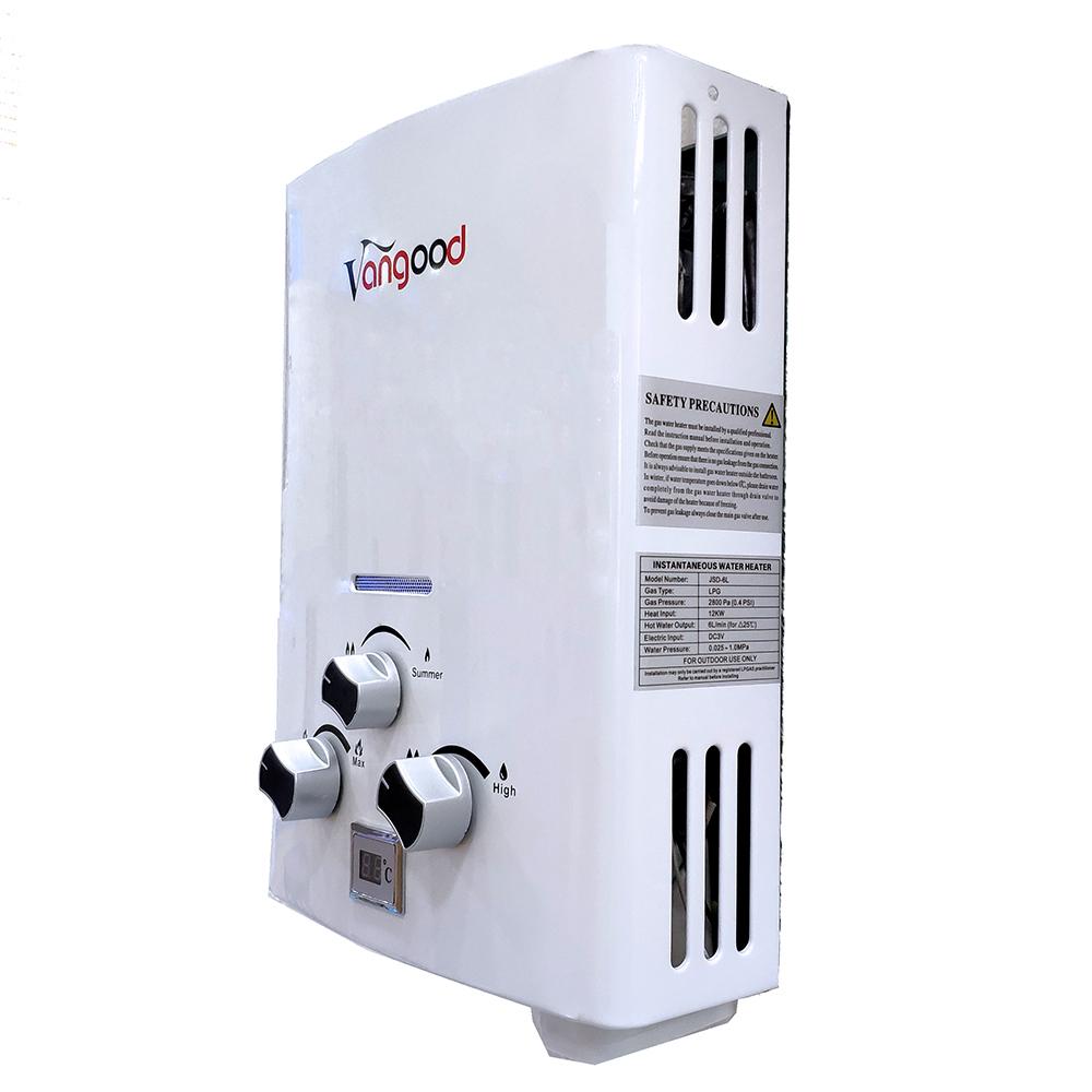 Купить мгновенный портативный бензиновый водонагреватель на 5 л, 6 л, 8 л