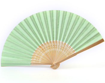 high quality lace fan bamboo hand fan for wholesale