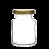 Round Honey Glass Jar