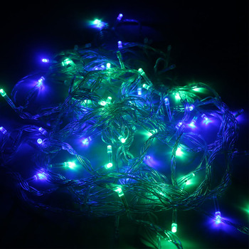 Extendable Christmas lights, multiple-color LED string lights 10 meter wire led twinkling decorative strip fairy lights