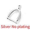 Silver (No plating)