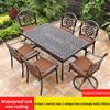 14-4 стула 2 вращающееся кресло 1 косая линия стол 150 см