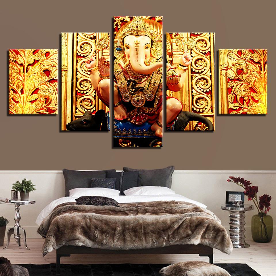 10 Pieces India Vikings Indian Buddha Hindu God Elephant Ganesha ...