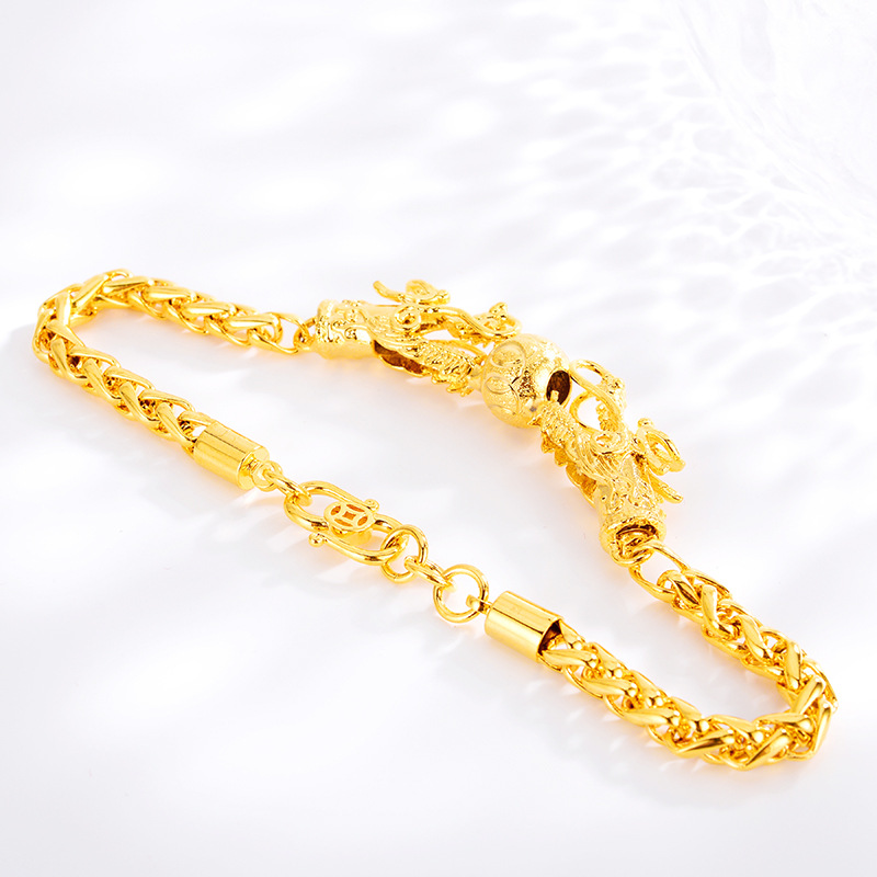 Gold Bracelet for Women Wedding Jewelry