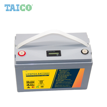 Deep Cycle Rechargeable Lithium ion Lifepo4 12V 100Ah 150ah 200ah Lithium Battery