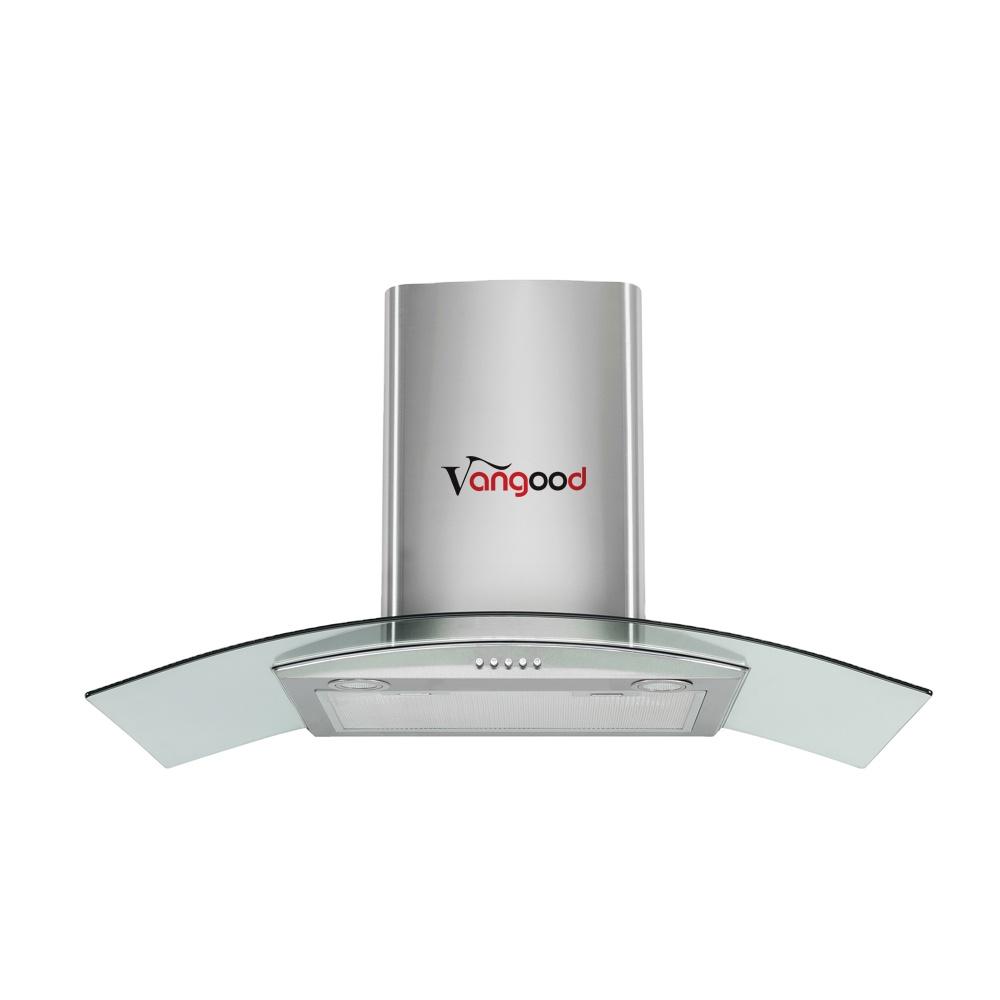 Кухонная выключатель капота с сенсорным управлением в европейском стиле капоты из закаленного стекла