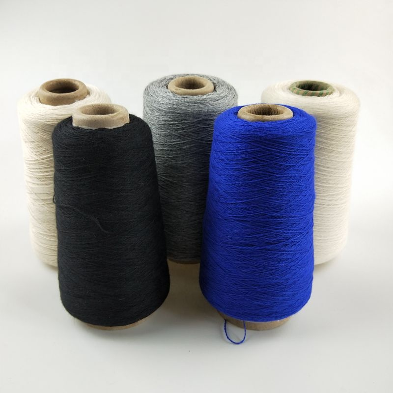 Angora blended yarn for hats