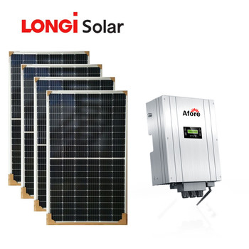 Solar energy products 4000W on grid tie solar power system for home
