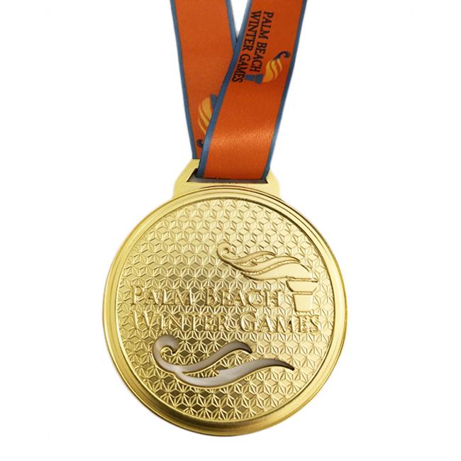 custom medal gold karate medals Trophy Holder Sports swimming medal