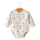 Baby Soft Clothes Baby Polka Dot Jumpsuit Cotton Soft Wholesale Summer Style Baby's Clothes