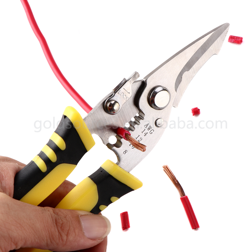Creative multi function wire cable cutter electrician wire stripper pliers tool wire stripper