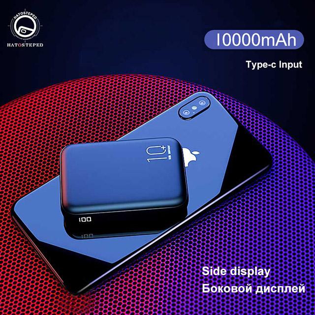 мини 20000 мАч пауэр банк портативное Внешний аккумулятор C PD быстрое зарядное устройство Быстрая зарядка пауэр банк повербанк(Китай)