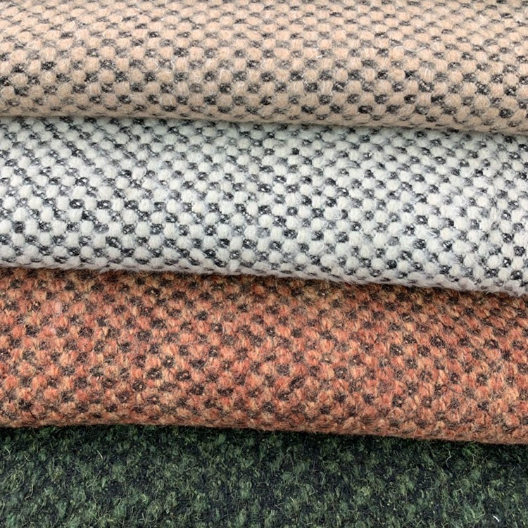 2019 New Fashion Style Thick Woolen Woven Fabric