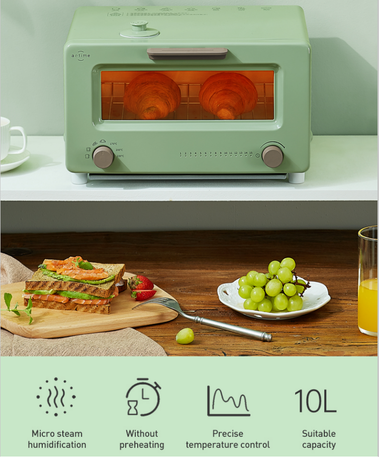 Steam oven Steam toaster with 5cc water tank better than Balmuda